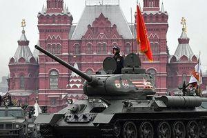 Nga duyệt binh rầm rộ, kỷ niệm Ngày chiến thắng