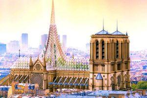 Thiết kế mới được đề xuất đẹp đến ngỡ ngàng của Nhà thờ Đức Bà Paris