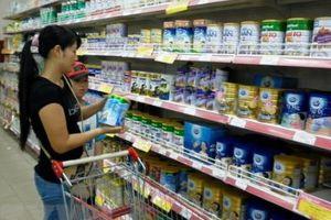 Kim ngạch nhập khẩu sữa gần 96 triệu USD