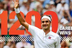 Federer cán mốc 1.200 trận thắng, cùng Djokovic vào tứ kết Madrid Open