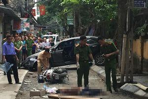 Nữ tài xế Camry đi lùi cán chết người trong ngõ Hà Nội