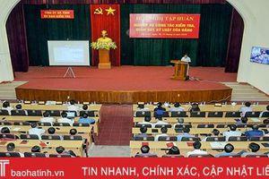 Hà Tĩnh bồi dưỡng nghiệp vụ kiểm tra, giám sát cho gần 2.000 học viên