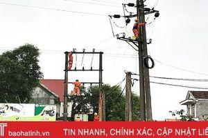 Điện lực Lộc Hà diễn tập phòng chống thiên tai, tìm kiếm cứu nạn