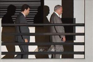 Cựu Tổng thống Brazil Michel Temer lại bị giam giữ