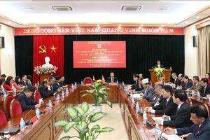 Thủ tướng Nepal nói chuyện với cán bộ, học viên Học viện Chính trị quốc gia Hồ Chí Minh