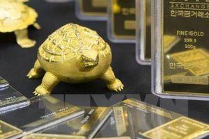 Vàng châu Á vững giá trong phiên cuối tuần