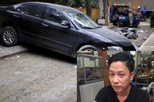 Giây phút người đàn ông cùng con trai thoát chết trong gang tấc khi xe Camry lùi tông tử vong một phụ nữ