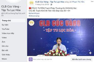UBND Uông Bí vào cuộc vụ bà Phạm Thị Yến lại đăng đàn thuyết giảng
