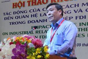 Công nghệ 4.0 và những tác động đến quan hệ lao động và việc làm trong doanh nghiệp FDI