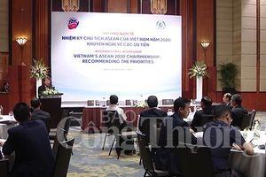 Bàn về các ưu tiên của Việt Nam trong Năm chủ tịch ASEAN 2020