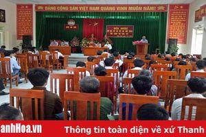 Đại biểu HĐND tỉnh tiếp xúc cử tri tại huyện Như Xuân