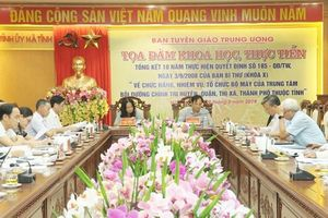 Trung tâm BDCT cấp huyện góp phần đưa chủ trương của Đảng vào cuộc sống