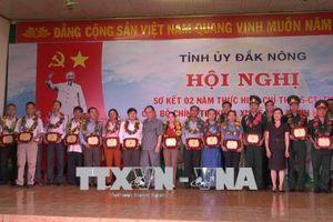 Đảng ủy Khối các cơ quan tỉnh Đắk Nông: Thiết thực, cụ thể trong học và làm theo Bác