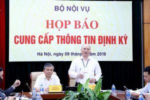 Bộ Nội vụ chuẩn bị công bố các chỉ số PAR INDEX và SIPAS 2018Tải file đính kèm