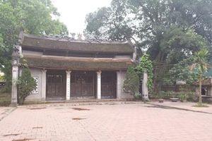 Gia Lâm (Hà Nội): Khu di tích Đình - Đền - Chùa Kiêu Kỵ đang bị xuống cấp nghiêm trọng