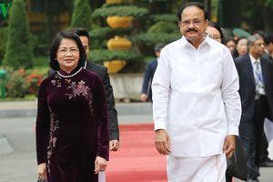 Phó Chủ tịch nước chủ trì lễ đón Phó Tổng Thống Ấn Độ