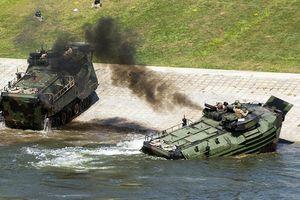 Lật xe bọc thép khi huấn luyện, 1 binh sỹ Mỹ thiệt mạng, 6 người bị thương