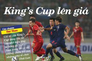 Thái Lan cảm ơn Việt Nam 'nâng giá' King's Cup