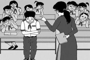 Làm rõ thông tin phụ huynh tố giáo viên bắt học sinh quỳ gối trước lớp
