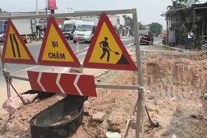 Quảng Ngãi: 'Bẫy' giao thông trên Quốc lộ 1A