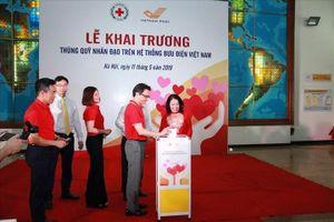 Lễ khai trương Thùng quỹ Nhân đạo trên hệ thống Bưu điện VN