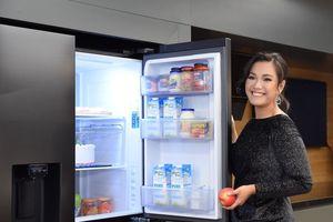 Sang trọng, tiện dụng và an toàn hơn với tủ lạnh RS5000