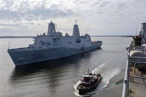 Giữa căng thẳng, Mỹ điều thêm tàu đổ bộ, tên lửa đến đối phó Iran