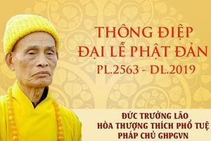 Thông điệp Đại lễ Vesak của Đức Pháp giáo chủ Hội Phật giáo Việt Nam