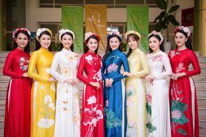 Á hậu Phương Nga và dàn người đẹp HHVN đọ sắc xinh đẹp với áo dài