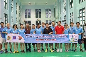 Kết quả môn cầu lông Hội thao Cơ quan Tập đoàn lần thứ I