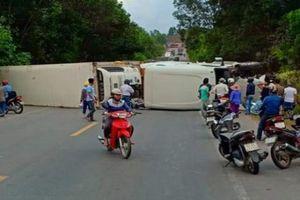 Tai nạn liên hoàn trên đường tránh Nam Hải Vân, giao thông ách tắc