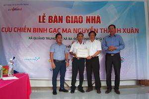 Báo VietNamNet trao tặng nhà cho cựu binh Gạc Ma tại Quảng Bình