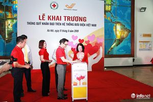 Đặt 700 thùng quỹ Nhân đạo tại các bưu cục để giúp người khó khăn