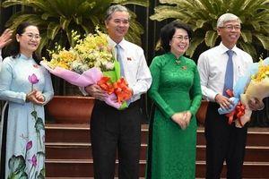 TPHCM có thêm 2 Phó chủ tịch UBND mới