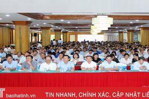 UBND tỉnh Hà Tĩnh nâng cao nghiệp vụ tiếp dân, giải quyết khiếu nại - tố cáo