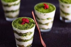 Tiramisu trà xanh - tuyệt phẩm bánh bạn không thể bỏ qua
