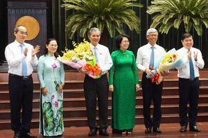 Ông Võ Văn Hoan và Ngô Minh Châu làm Phó Chủ tịch UBND TP Hồ Chí Minh
