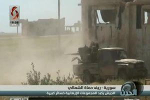 Sư đoàn 'Hổ Syria' bẻ gãy cuộc phản kích điên cuồng của thánh chiến ở Hama