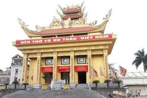 Tranh cãi ngôi đền thờ Tổ họ Trần mới ở Thái Bình