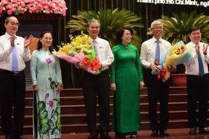 Chân dung 2 Phó chủ tịch UBND TP. Hồ Chí Minh mới