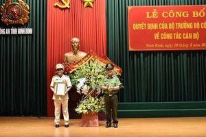 Ninh Bình có tân giám đốc Công an tỉnh