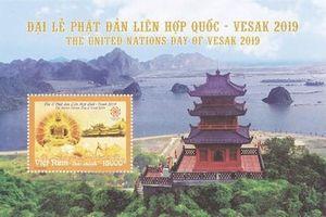 Ra mắt bộ tem, công bố mạng xã hội chào mừng Đại lễ Vesak 2019