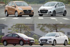 Hyundai Grand i10 'lội ngược dòng', đánh bại Accent trong cuộc đua doanh số