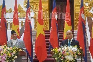 Thủ tướng Nguyễn Xuân Phúc: Việt Nam khẳng định sẽ tiếp tục hợp tác chặt chẽ với Nepal