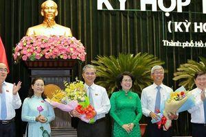 Tp.HCM có hai tân Phó chủ tịch UBND