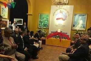 Thủ tướng Nepal dự giới thiệu sách 'Nepal- Hòa bình trong tầm tay'