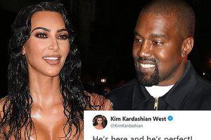 Kim Kardashian đón con thứ 4 vừa chào đời bằng cách nhờ mang thai hộ