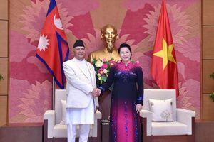 Chủ tịch Quốc hội hội kiến Thủ tướng Nepal