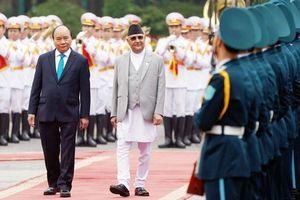 Tuyên bố chung Việt Nam-Nepal