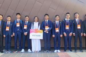 Tám thí sinh Đội tuyển quốc gia Việt Nam đều đoạt giải Olympic Vật lí châu Á 2019